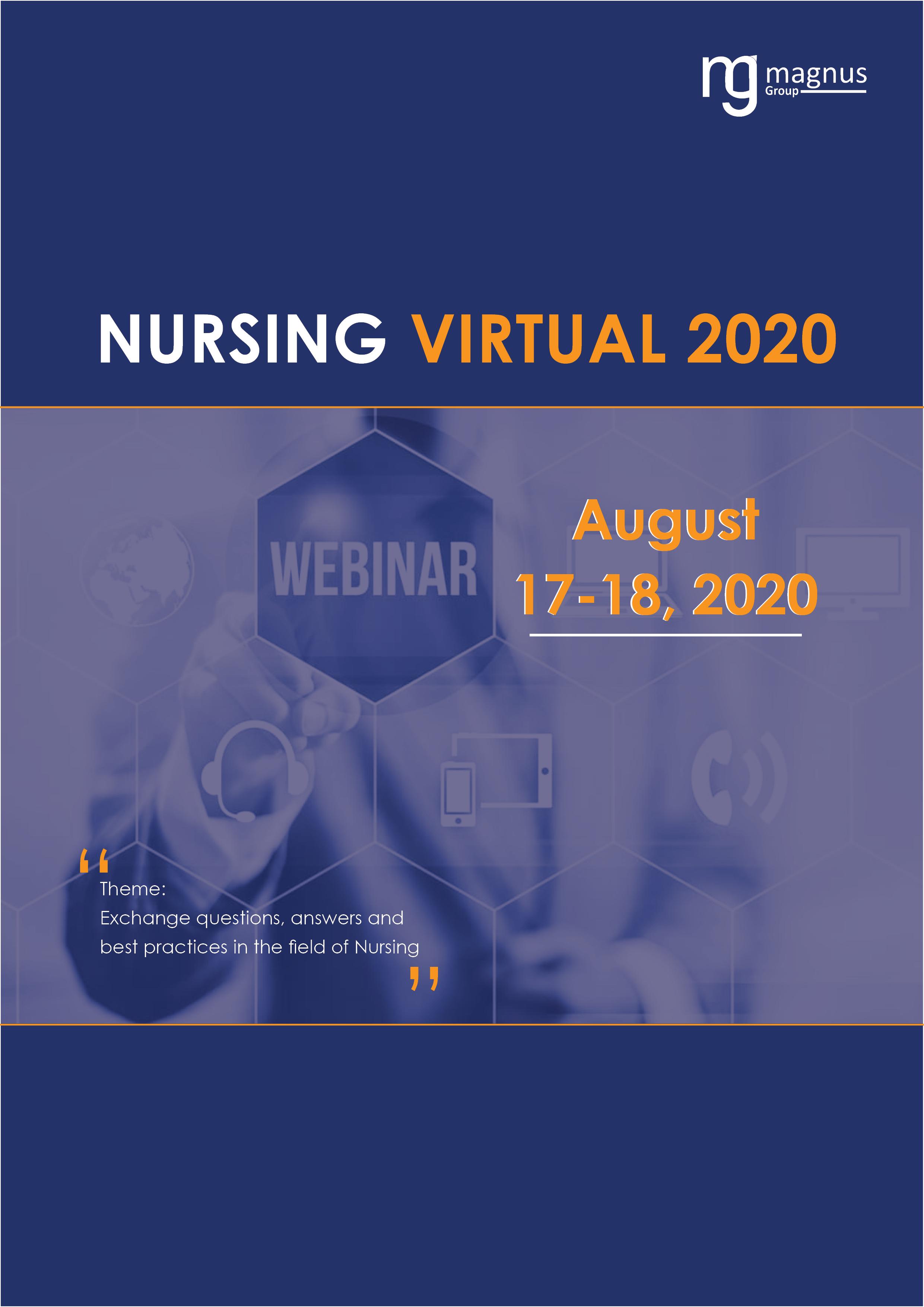 2nd Edition of International Webinar on Nursing | Online Event Book