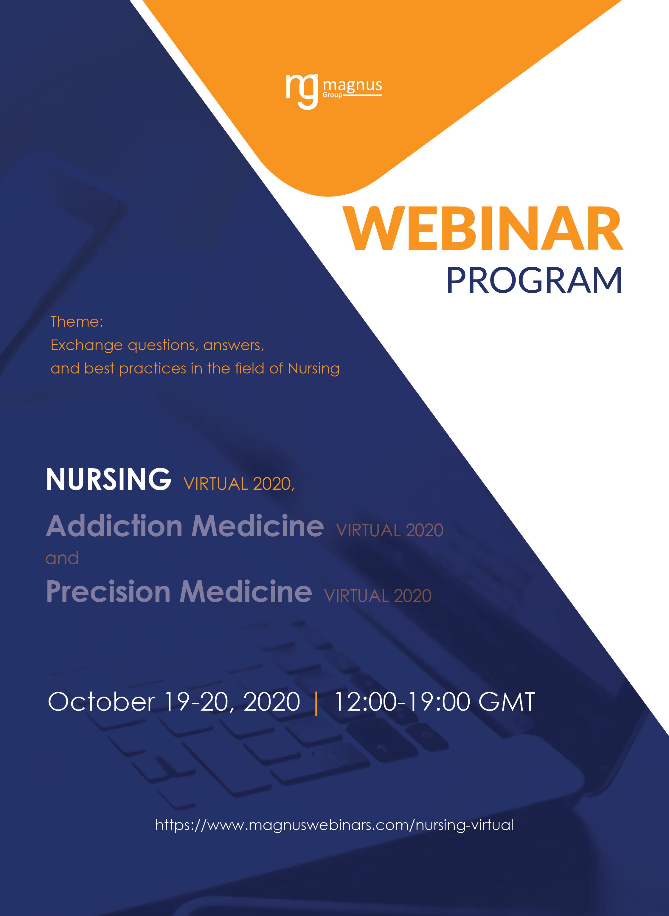 3rd Edition of International Webinar on Nursing | Online Event  Program