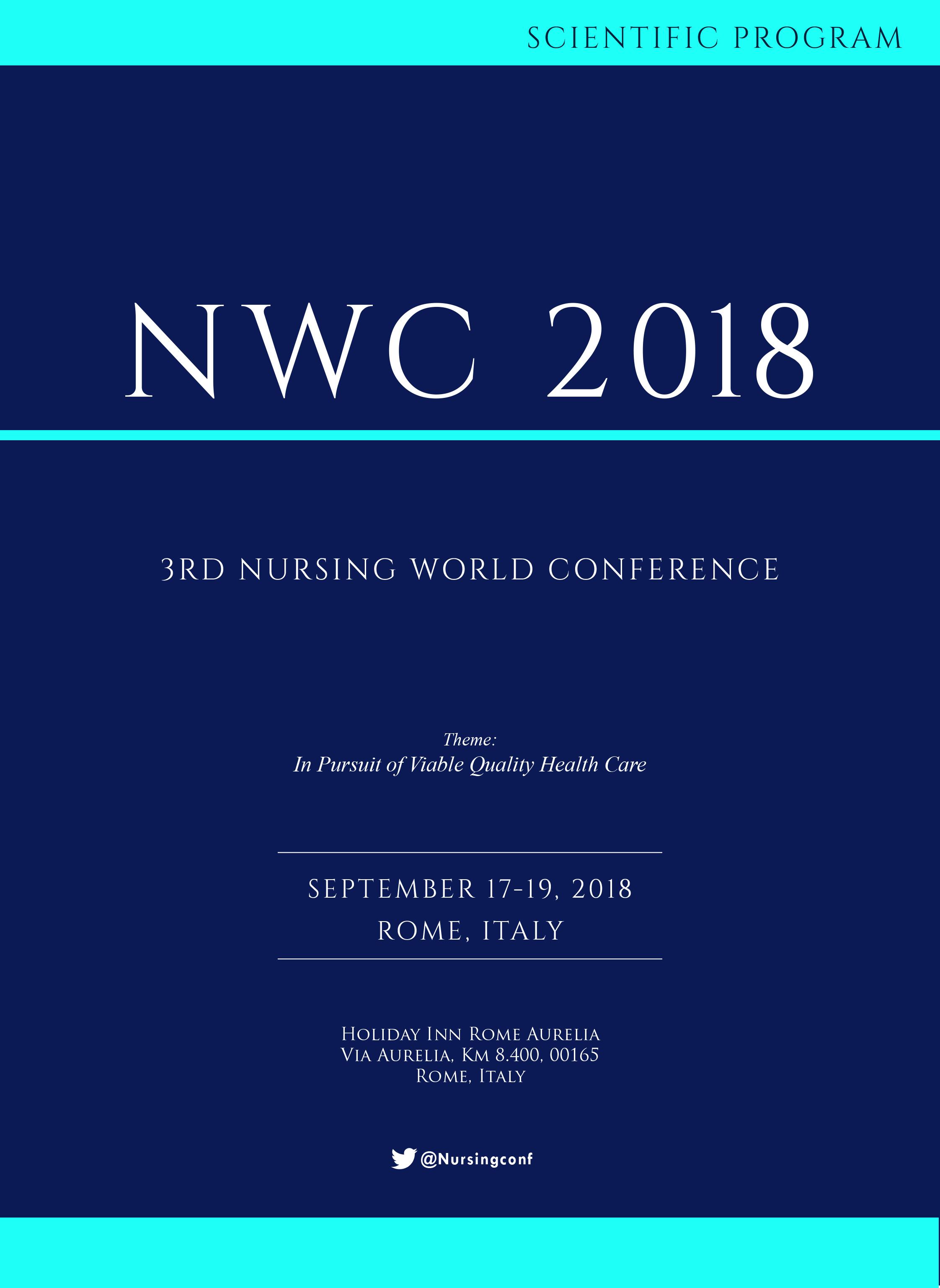 3rd Nursing World Conference | Rome, Italy Program